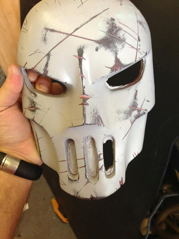 Teenage Mutant Ninja Turtles - Casey Jones Mask casting