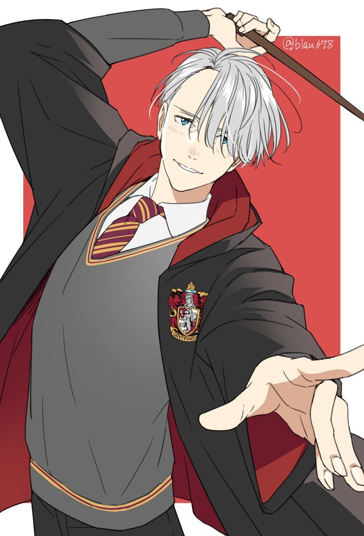 Viktor Nikiforov - Yuri!!! On Ice/Harry Potter crossover