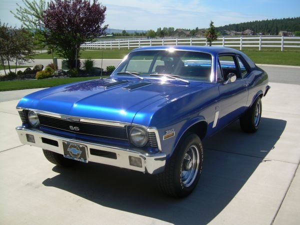 1970 Chevy Nova 350... SWEET! Can we paint it PINK ;)