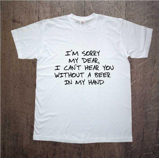 Sorry+My+Dear,+Męska+koszulka+z+nadrukiem,+w+DDshirt+na+DaWanda.com