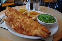 Squires fish and chip restaurant in Braunton prides itself on doing the classic British dish of fish and chips proud. Not only do we use the freshest fish of the best quality, but we aim to let it speak for itself by covering it in only the lightest of batters.