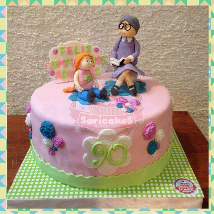Torta 90 años abuelita