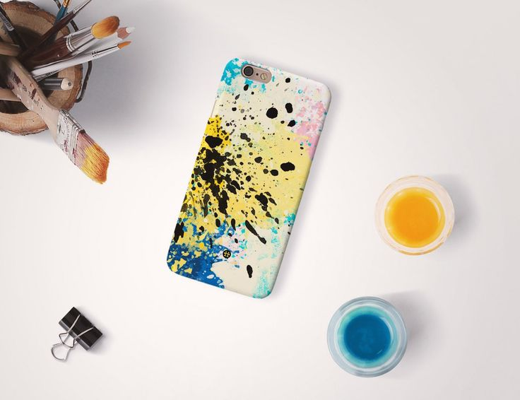 Get some #splashart highlighted from your smartphone with this CMYK Splash Art #PhoneCase by Madotta.