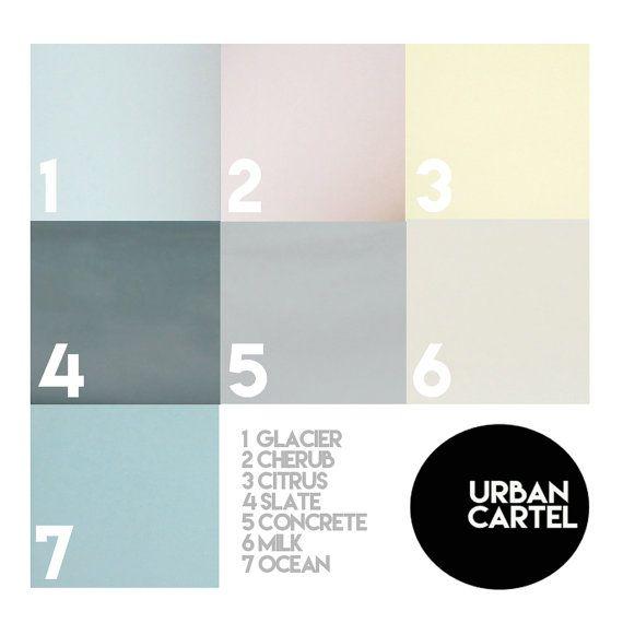 Bio Vorspeise Teller Porzellan Milch-Farbe von urbancartel auf Etsy
