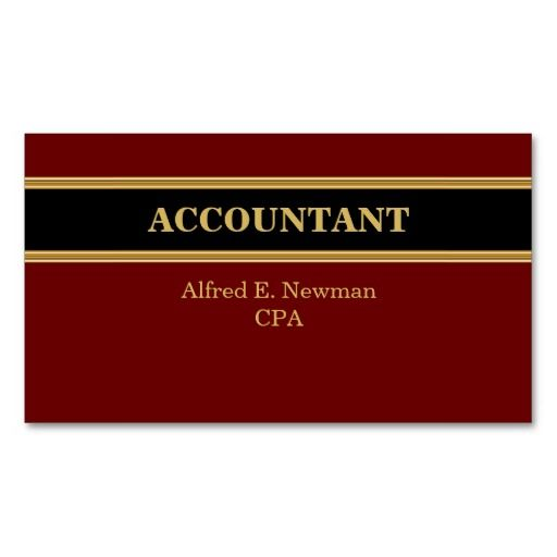 215 best Accountant Business Cards images on Pinterest
