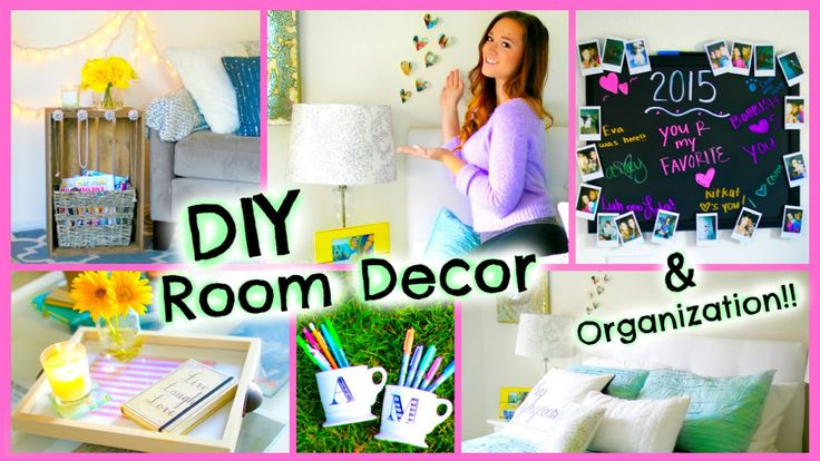 DIY Room Decor 2015 / Organization + Decorations for Your Room!! by AlishaMarie