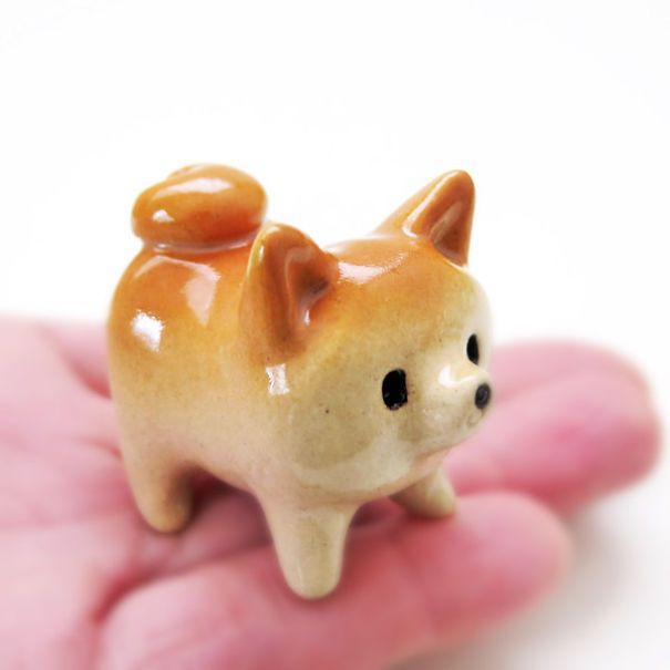 My Shiba Inu Ceramics That I Create To Deliver Smiles To Folks's Faces