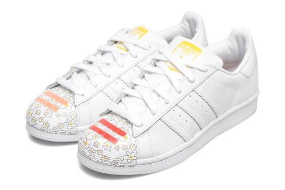 Adidas Originals Superstar Pharrell Supershell W (Bleu) - Baskets chez Sarenza (235542)