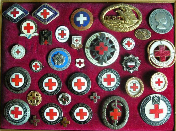 Deutsches Rotes Kreuz pins