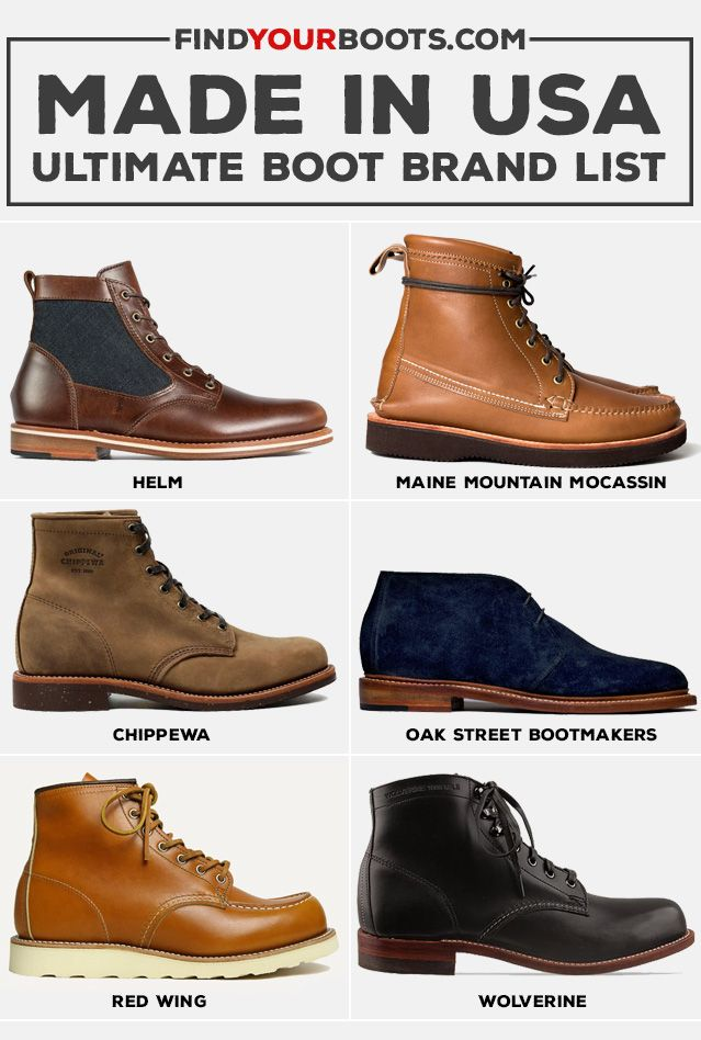 60 American Made Boots Ultimate Brand List American
