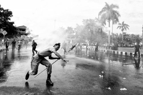 the protester by m salim bhayangkara
