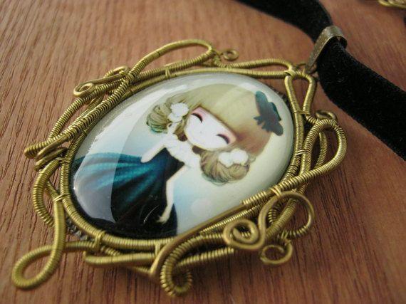 victorian jewelry victorian necklace victorian pendant