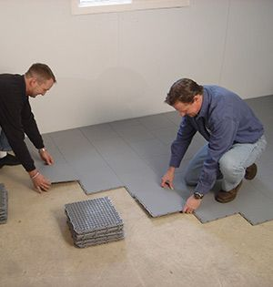 Installing ThermalDry® Floor Matting