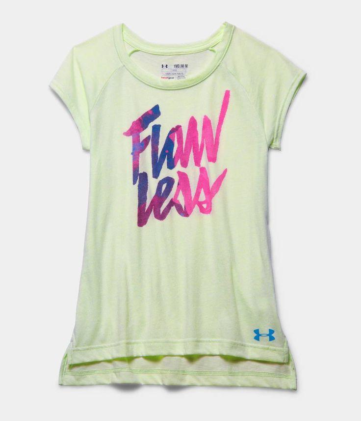 Girls' UA Flawless Charged Cotton Tri-Blend Raglan | Under Armour US