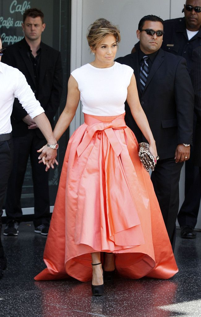 Jennifer Lopez in Christian Dior- Good idea for mother's dress for my wedding day
