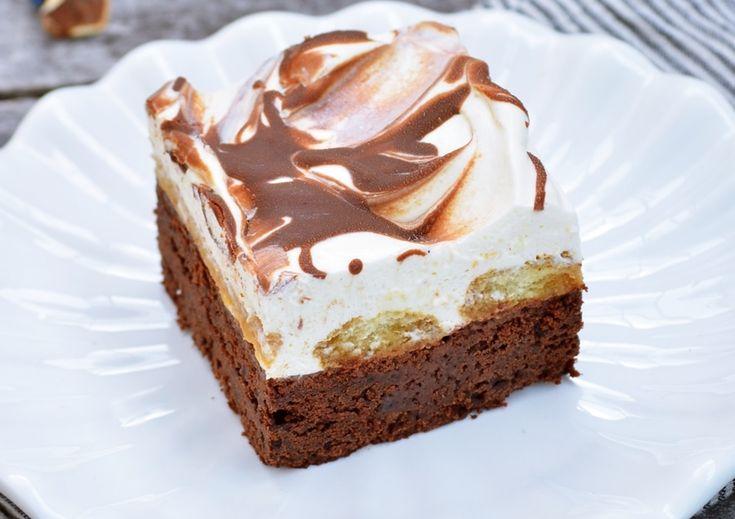Tiramisu jó sok csokoládéval – igazán csajos édesség! :)