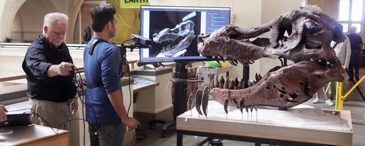 Kinect System Scans 5-Foot-Long T. Rex Skull To Solve Ancient Mystery