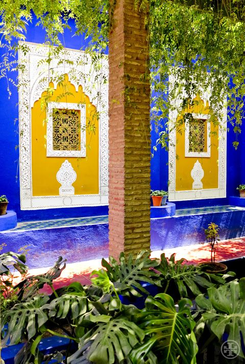 77 best images about morocco planning on pinterest for Jardin yves saint laurent