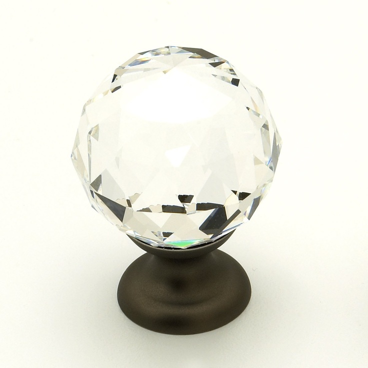 Schaub & Company 70-CS Fire Designs Crystal Knob