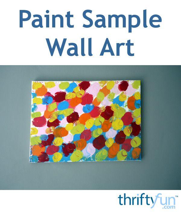 Best 25 Paint Sample Wall Ideas On Pinterest Paint Samples Paint Chip Wall And Paint Chip Art
