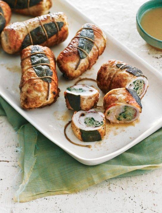 ... dazu gemüsereis und tomatensosse gems with spinach eat recipes
