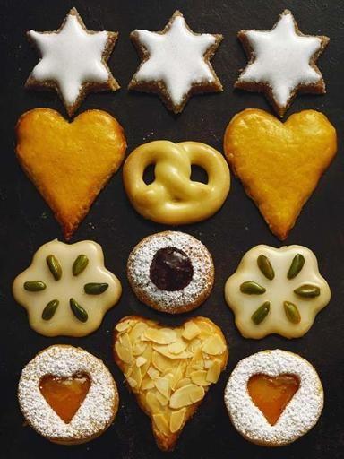 Recette Zimmetstern (gâteaux Noël), notre recette Zimmetstern (gâteaux Noël) - aufeminin.com