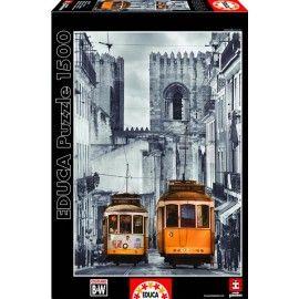 Lisszabon - Alfama negyed, Educa Puzzle kirakó 1500 db