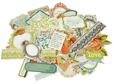 Kaisercraft Marigold Collectables Die-Cut Cardstock Pieces CT741 lace flowers | eBay