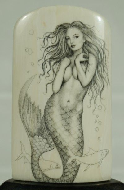Realistic mermaid, How to draw realistic and How to draw on Pinterest