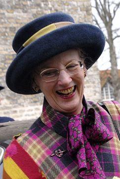 Queen Margrethe, April 26, 2001
