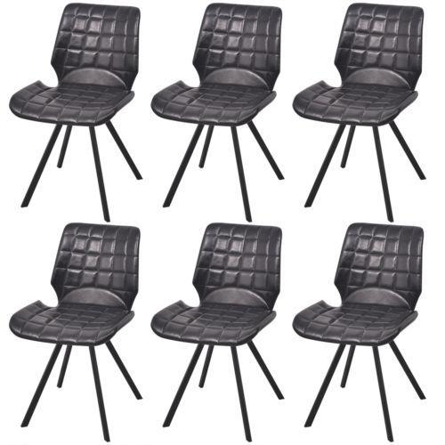 6xKüchenstuhl Esszimmerstuhl Esszimmerstühle Lehnstuhl Stühle Kunstleder #Ssparen25.com , sparen25.de , sparen25.info