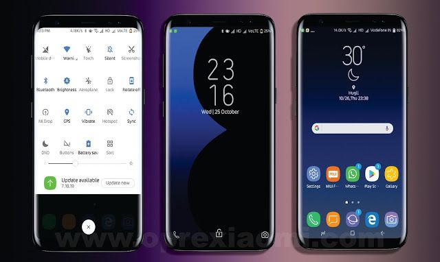 Download Tema Samsung S8 Max Mtz Xiaomi Full Jam Di Tengah