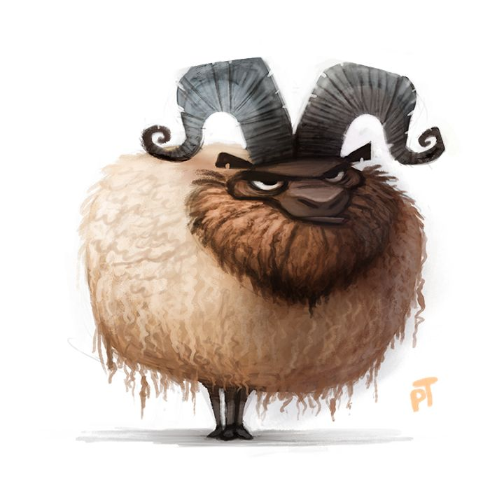 Day 518. A sheep by Cryptid-Creations.deviantart.com on @deviantART ★ Find more at http://www.pinterest.com/competing/