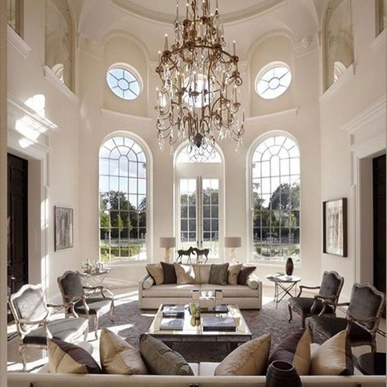 I'm in love with the design and great use of space.  Lots of natural light and chic understated glamour.