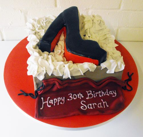 Red Bottom Shoe Cake | CAKE LOVE | Pinterest | Shoe Cakes ...