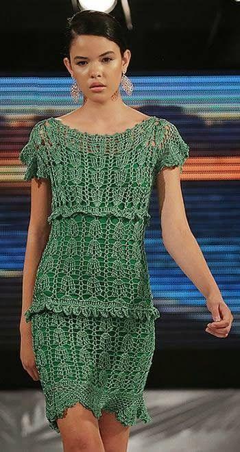 http://crochetemoda.blogspot.com.tr/2014/07/vestidos-de-crochet.html?m=1  Crochetemoda: Vestidos de Crochet