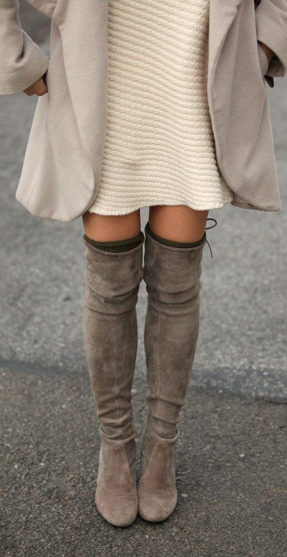 #fall #fashion / monochrome