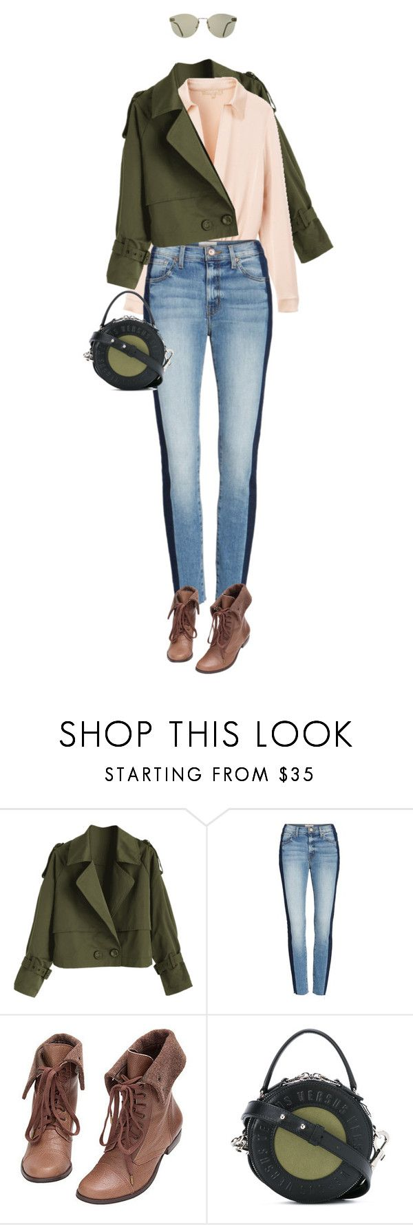 """eva1449"" by evava-c on Polyvore featuring Michael Kors, Band of Gypsies and Versus"