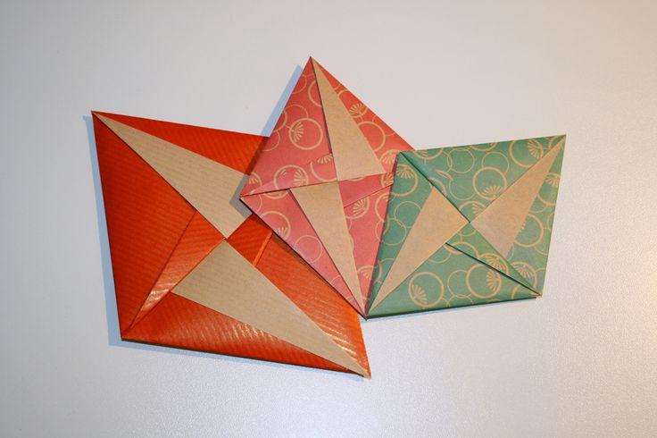 site origami : pliage enveloppe
