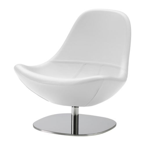TIRUP Swivel armchair - Kavat white - IKEA