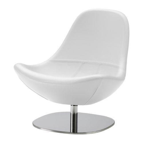 TIRUP Svingstol - Kavat hvit  - IKEA