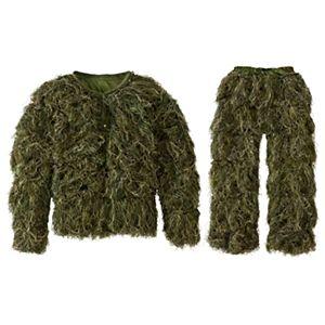 Hot Shot Deluxe Ghillie Suit - Woodland Camo - XL/2XL