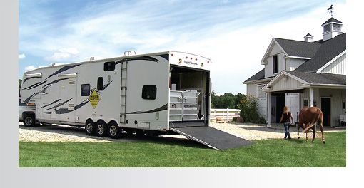 Turning A Toy Hauler Fifth Wheel Into A Horse Trailer