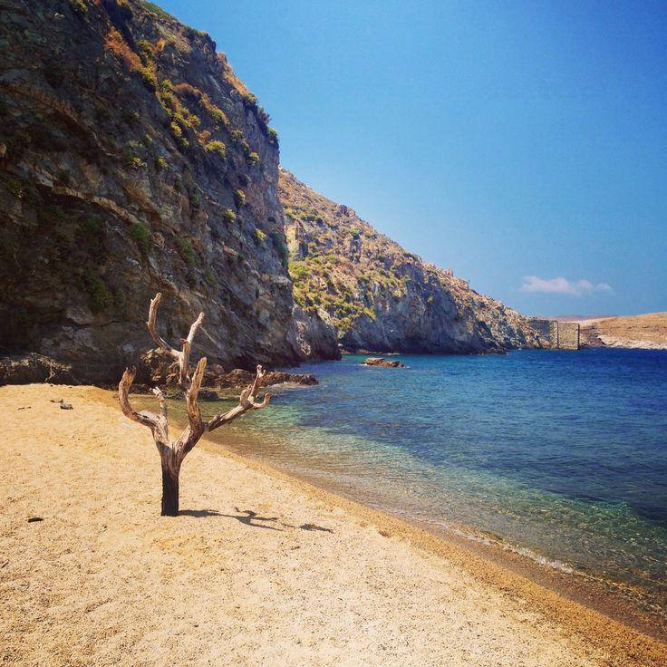 Vagia beach ~ Serifos island, Cyclades, Greece. - Selected by www.oiamansion.com