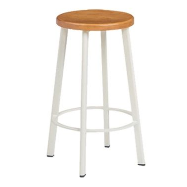 Hop Barstool White | Casual & Country