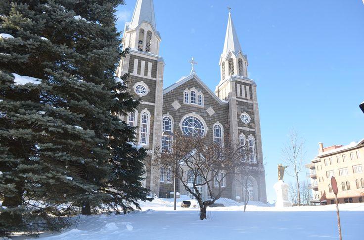Église en hiver - Baie-Saint-Paul