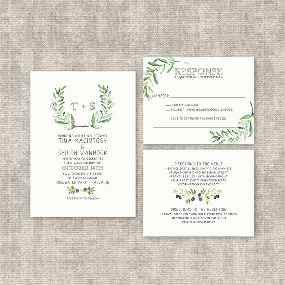 370 best My Etsy Shop images on Pinterest Wedding invitation