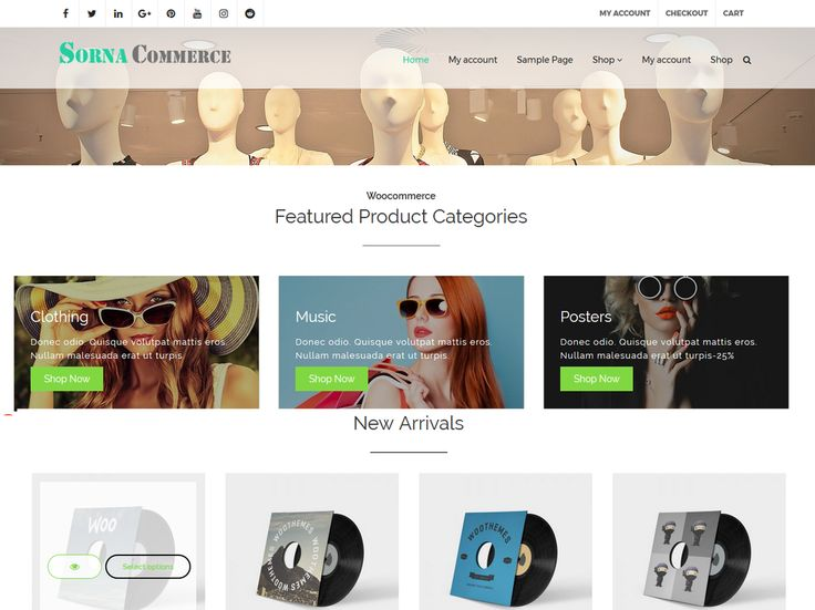 SornaCommerce is a fully responsive WordPress WooCommerce theme, perfect for your e-commerce, Store ,Shop website. It offers a great design and an awesome collection of features, with which you can achieve a remarkable e-commerce experience for your website. is free WooCommerce WordPress Theme suitable for eCommerce websites of any Store , Shop type: fashion, sport, technology, fashion, furniture, digitals etc. Its modern design is perfect to create a website for your business. Online Store…