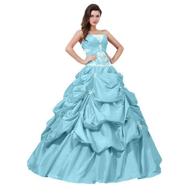 Plus size senior ball dresses
