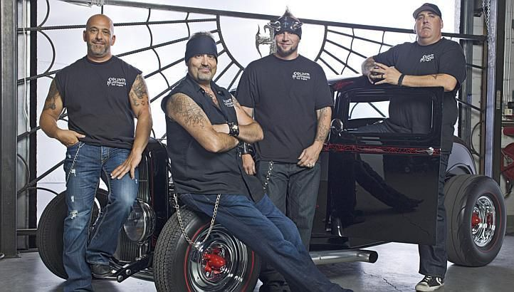 Counting Cars Danny Koker Wife | Counting Cars' Danny Koker (second from left) with the crew. -- PHOTO ...